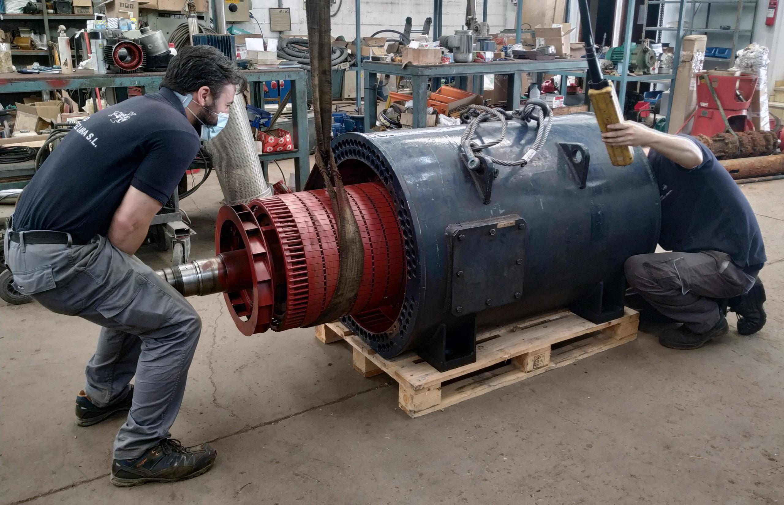 Mantenimiento de los motores eléctricos